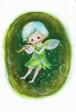 PCS008 「フルートを吹く妖精」ポストカード12枚セット