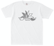 【Tシャツ】手描きガトムロゴ