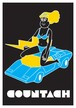 《JUN OSON イラストポストカード》CJ-6/ COUNTACH