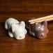 フレンチブルドッグ 陶器の箸置き(ペア)