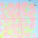 ファブリック:ツリー/ ブルー【ひびのこづえ】 大判