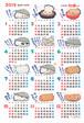 ポスカレ2019 ひろしまの牡蠣(かき) 復刻版