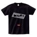 minario / POP CHECKER LOGO T-SHIRT BLACK