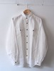 FUJITO Snap Button Shirt White