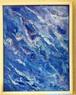 絵画(アクリル画) Blue Jewel