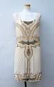 イギリス 1920年代風 ビーズワンピース ミニワンピース ワンピース 新品
