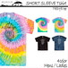 SHORT SLEEVE Tiedye Tshirt dreamcatcher as-11