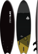 Storm Blade 6ft6 Swallow Tail Surfboard / Black