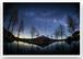 アート写真プリント A4サイズ 早春の天の川