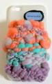 手紡ぎヤーン iPhone セーター #2(iPhone6 6s対応)