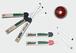 「マサラドライブ」クリケットバット型ペン 2本セット