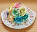 折り紙のバラ半円のブーケ