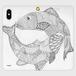 手帳型(帯なし)(iPhone X/XS):kazue.M_019「ミートゥンダ」