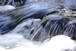 川の水しぶき