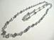 カットガラスのネックレス〈n239〉