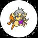 ミニ缶バッジ(ゆき&ぼやじ&ウラジミール)