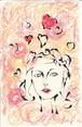 「恋の予感」クレヨン画