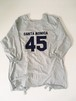 Football coverall Apron[Blue Gray]