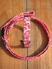 Pink Leopard Collar & Leash - S(小型犬用)