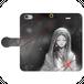 #004-008 iPhoneXS/X 綺麗系・ファンタジー系《マグダラの乙女》手帳型iPhoneケース・手帳型スマホケース 全機種対応 作:水無月りい Xperia ARROWS AQUOS Galaxy HUAWEI Zenfone
