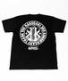 RAKUGAKI 3RD ANNIVERSARY T-Shirts Cabon Black×White