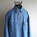 1980's [Wrangler] デニムウエスタンシャツ インディゴ 実寸(L〜XL位) ラングラー