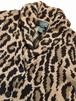 LAUREN RALPH LAUREN Leopard Shawl Collar Cardigan