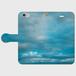 iPhone6/6s 薄い空の手帳型スマホケース