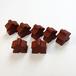 茶色 木製 人型駒(約75個)