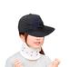 【受注生産品】覩連寧緯 刺繍ナイロンキャップ 黒X 刺繍紺