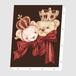 okappalover「king&queen」アートキャンバス F0サイズ