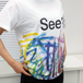 """Tシャツ /TEE """"See?""""  WEAR YOUR True Colors"""