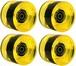 SANTA CRUZ ROAD RIDER ウィール 68mm 78a Yellow W/BEARINGS PREMIUM USA GRIP FORMULA