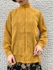 (TOYO) stand collar l/s blouse