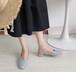 レディース パンプス バックストラップ スクエアトゥ ローヒール 合皮 革 黒 ブラック ピンク 青 ブルー 春秋 履きやすい 入学式 卒業式 結婚式 フォーマル 韓国