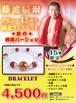 ※箱に直筆サイン入り 藤波辰爾選手デビュー45周年記念ブレスレット『炎の飛龍バージョン』