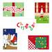 クリスマスカード 5枚セット ASOBIDEAカード 0020~0024