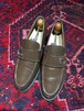 .GUCCI LEATHER LOGO LOAFER MADE IN ITALY/グッチレザーロゴローファー 2000000036786
