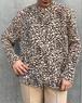 (PAL) flower pattern l/s shirt