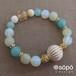 031. power stone jewelry bracelet -green-