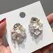 Pearl design earrings 淡水パールデザインピアス