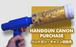 ハンドガンキャノン砲(ゴールド)