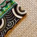 タイのやさしい手作り財布/緑柄