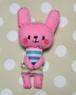 ピンクうさぎマスコット3