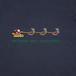 クリスマス(8ビット)/ネイビー【CWE-010NV】