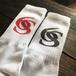 ※送料無料!【6SENSE】Sports socks -6S new logo-(RED,BLACK)