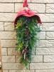 ガーランド風クリスマス壁飾り