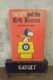 1967s SNOOPY and the Red Baron picture book