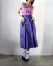Yves Saint Laurent rive gauche blue-violet skirt