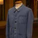 1964 FRENCH NAVY × St JAMES BLUE COTTON WORK JACKET